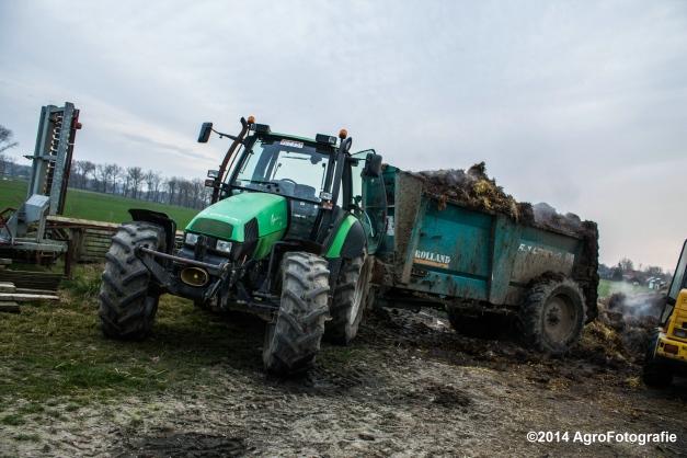 Deutz-Fahr Agrotron + Rolland-21