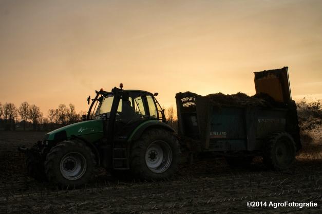 Deutz-Fahr Agrotron + Rolland-22