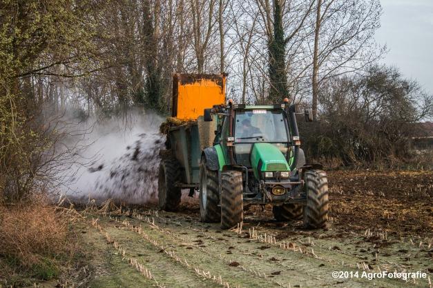 Deutz-Fahr Agrotron + Rolland-26