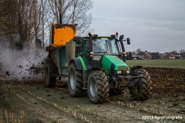 Deutz-Fahr Agrotron + Rolland-27