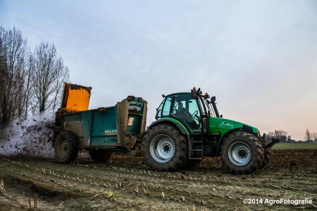 Deutz-Fahr Agrotron + Rolland-28