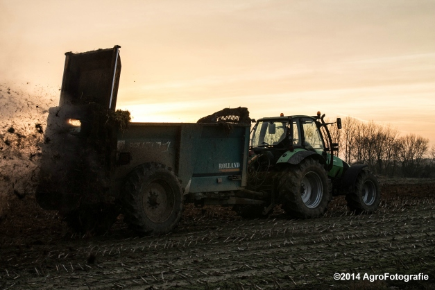 Deutz-Fahr Agrotron + Rolland-29