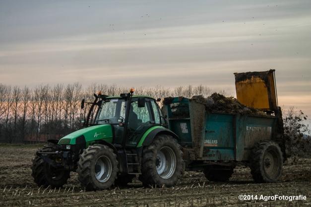 Deutz-Fahr Agrotron + Rolland-6