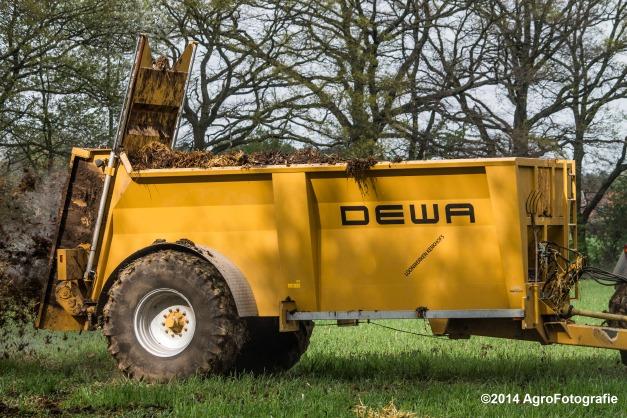 Fendt 415 + Dewa-25
