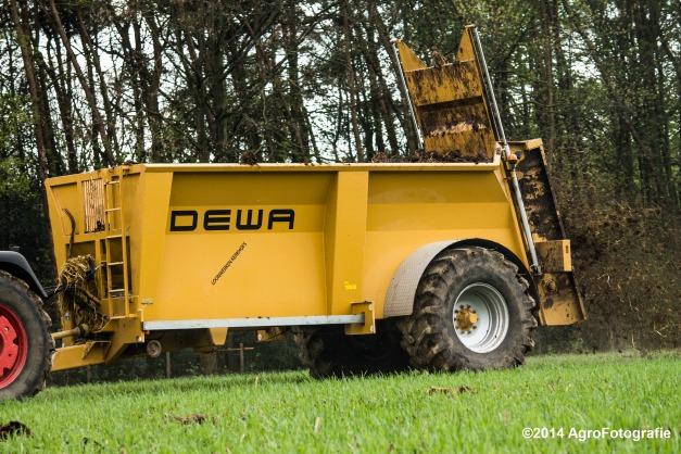 Fendt 415 + Dewa-7