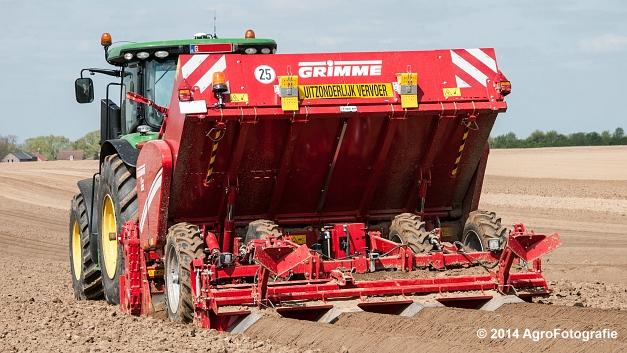 John Deere 7230R + Grimme GL 430 (Van Elven) (17 van 25)
