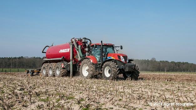 New Holland T7060 + Joskin Cargo 22500 TRM (Vanbuel) (1 van 24)