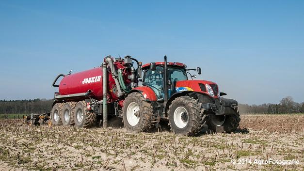 New Holland T7060 + Joskin Cargo 22500 TRM (Vanbuel) (10 van 24)