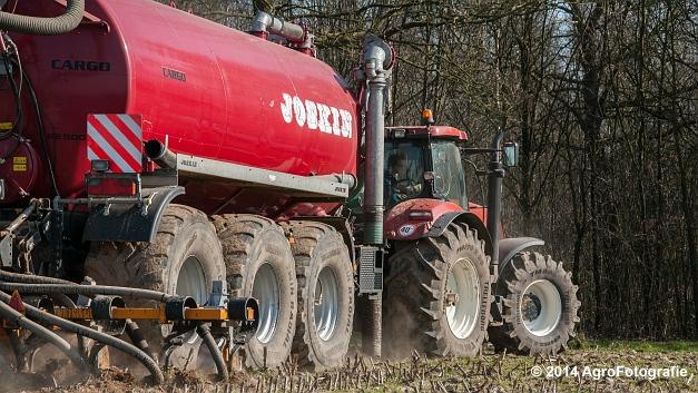 New Holland T7060 + Joskin Cargo 22500 TRM (Vanbuel) (12 van 24)