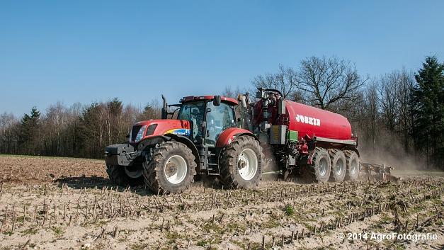 New Holland T7060 + Joskin Cargo 22500 TRM (Vanbuel) (13 van 24)
