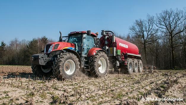 New Holland T7060 + Joskin Cargo 22500 TRM (Vanbuel) (3 van 24)
