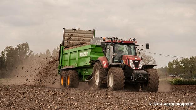 New Holland T7030 + Joskin Ferti-Space 7011 20U (Vanbuel) (12 van 15)