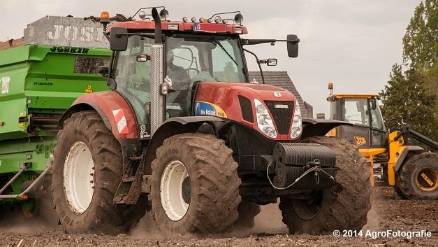 New Holland T7030 + Joskin Ferti-Space 7011 20U (Vanbuel) (13 van 15)