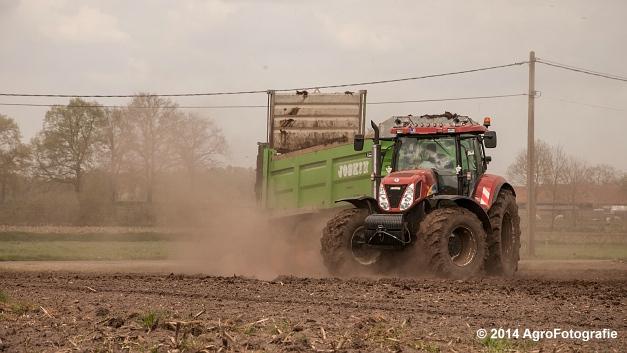 New Holland T7030 + Joskin Ferti-Space 7011 20U (Vanbuel) (6 van 15)