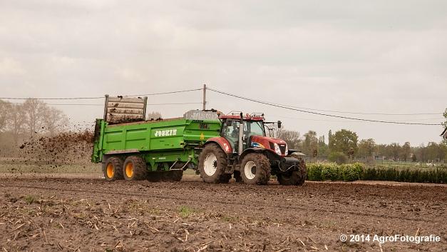 New Holland T7030 + Joskin Ferti-Space 7011 20U (Vanbuel) (7 van 15)