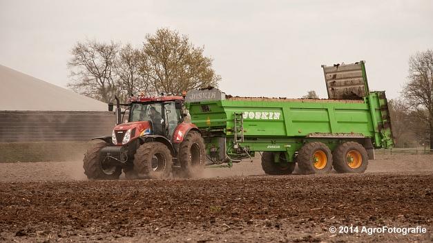 New Holland T7030 + Joskin Ferti-Space 7011 20U (Vanbuel) (9 van 15)