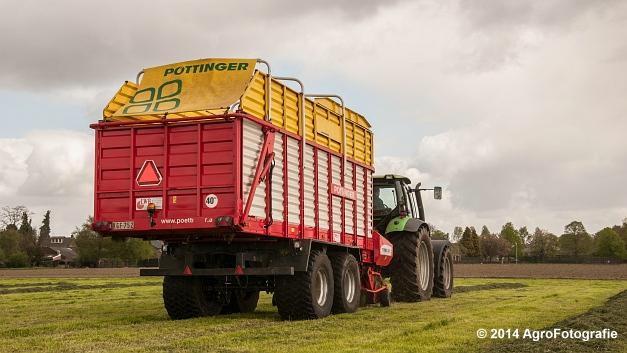Deutz-Fahr Agrotron 165.7 + Pöttinger Torro 5100 (3 van 17)