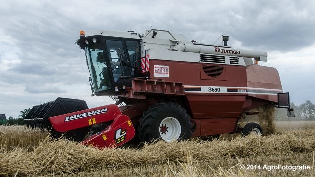 New Holland CX 7090 & Laverda 3650 (Vanbuel) (18 van 40)
