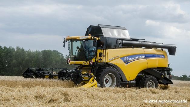 New Holland CX 7090 & Laverda 3650 (Vanbuel) (25 van 40)