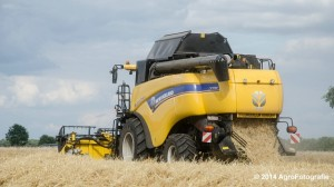 New Holland CX 7090 & Laverda 3650 (Vanbuel) (28 van 40)
