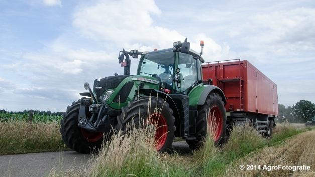 New Holland CX 7090 & Laverda 3650 (Vanbuel) (39 van 40)