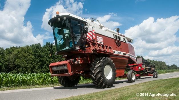 New Holland CX 7090 & Laverda 3650 (Vanbuel) (6 van 40)