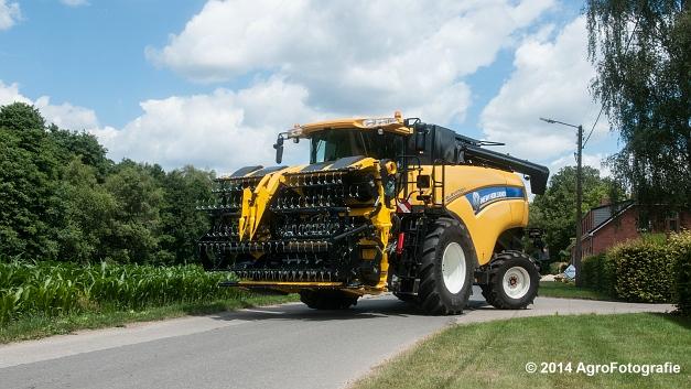 New Holland CX 7090 & Laverda 3650 (Vanbuel) (7 van 40)