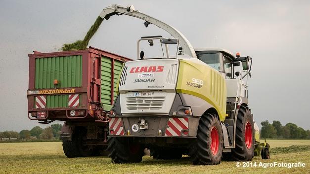 Claas JAGUAR 960 (Broekx, gras) (16 van 20)