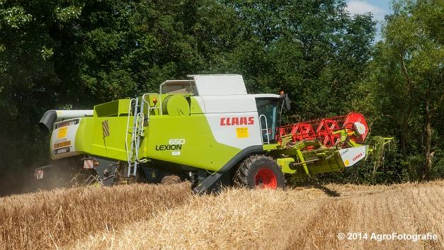 Claas LEXION 650 (Hertigers) (5 van 17)