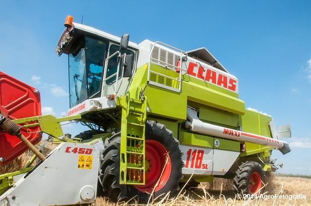 Claas MAXI 118 SL (Motmans) (8 van 16)