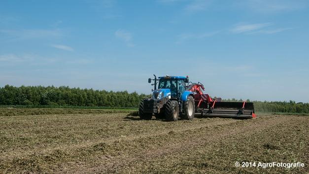 New Holland T7.170 + Kuhn Merge MAXX 900 (Van De Kruys) (12 van 22)