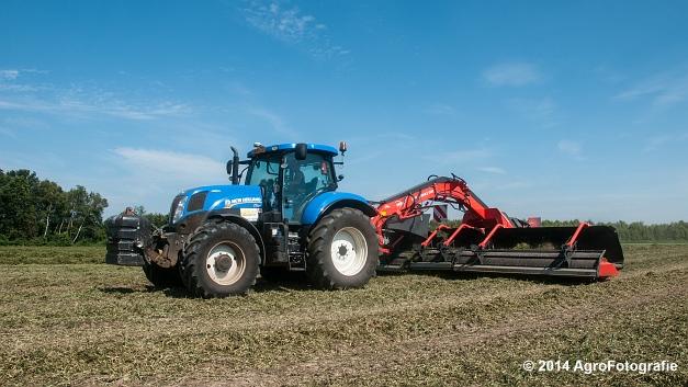 New Holland T7.170 + Kuhn Merge MAXX 900 (Van De Kruys) (13 van 22)
