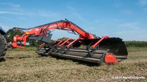 New Holland T7.170 + Kuhn Merge MAXX 900 (Van De Kruys) (14 van 22)