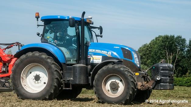 New Holland T7.170 + Kuhn Merge MAXX 900 (Van De Kruys) (17 van 22)