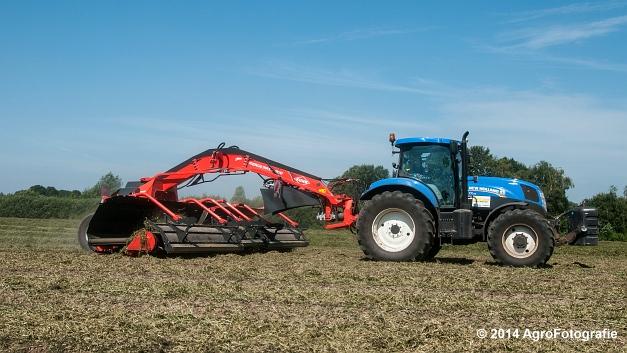 New Holland T7.170 + Kuhn Merge MAXX 900 (Van De Kruys) (18 van 22)