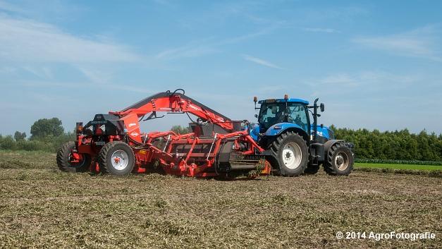 New Holland T7.170 + Kuhn Merge MAXX 900 (Van De Kruys) (19 van 22)