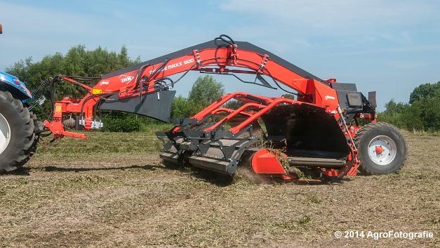 New Holland T7.170 + Kuhn Merge MAXX 900 (Van De Kruys) (4 van 22)