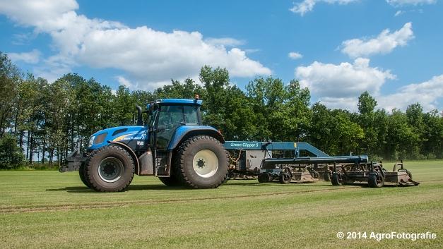New Holland TVT 135 + GreenClipper 5 (Franken agro) (13 van 15)
