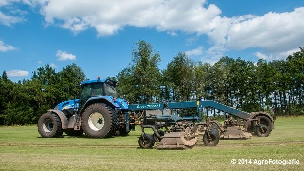 New Holland TVT 135 + GreenClipper 5 (Franken agro) (14 van 15)