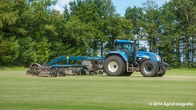 New Holland TVT 135 + GreenClipper 5 (Franken agro) (9 van 15)