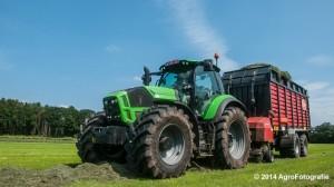 Deutz-Fahr Agrotron 7230 + Vicon ROTEX Combi 800 (12 van 15)