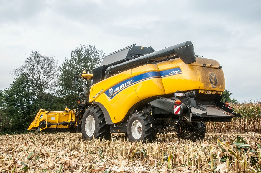 New Holland CX 7090 (Maïs, Vanbuel) (9 van 16)