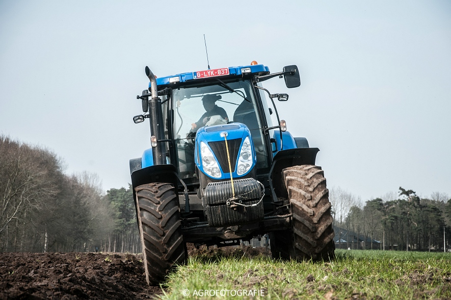 New Holland T7030 + Lemken (07-04-2015) (21 van 68)