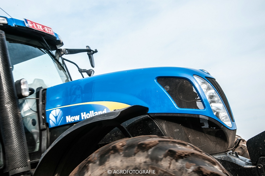 New Holland T7030 + Lemken (07-04-2015) (26 van 68)