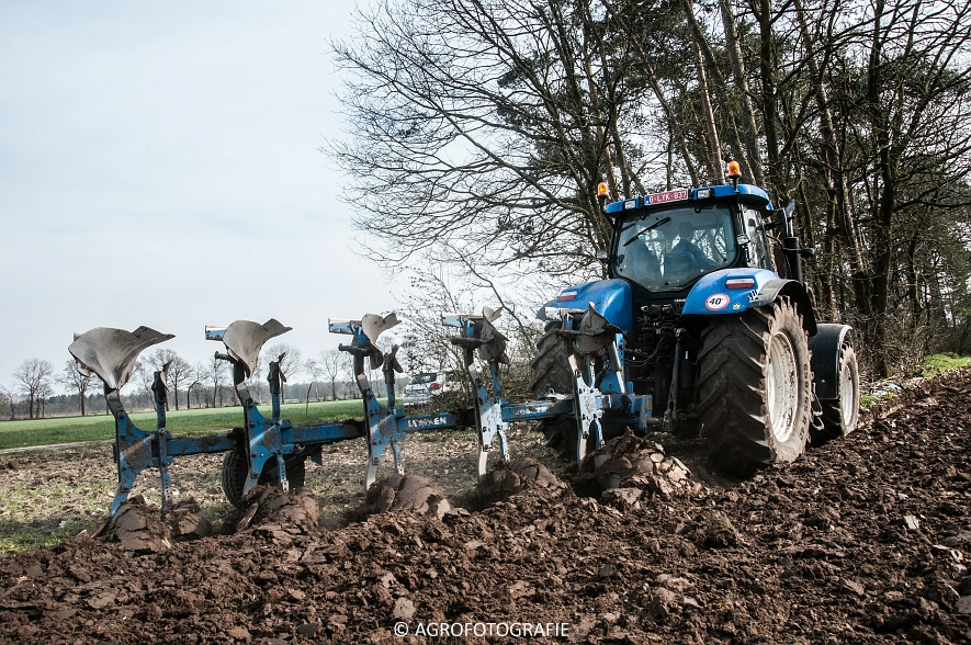 New Holland T7030 + Lemken (07-04-2015) (29 van 68)