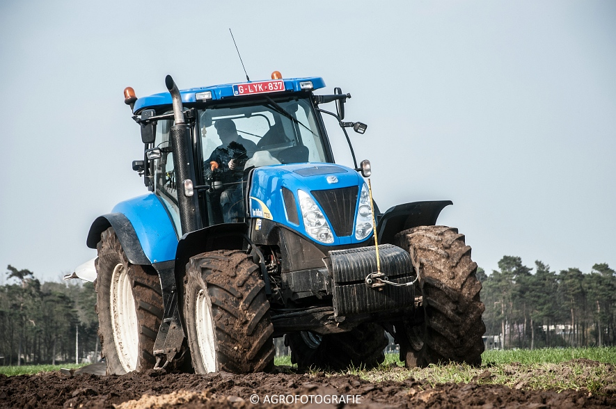 New Holland T7030 + Lemken (07-04-2015) (37 van 68)