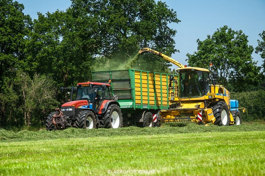 New Holland FX 50 + New Holland TM 155 (Gras, Vermeulen, 11-06-2015) (11)