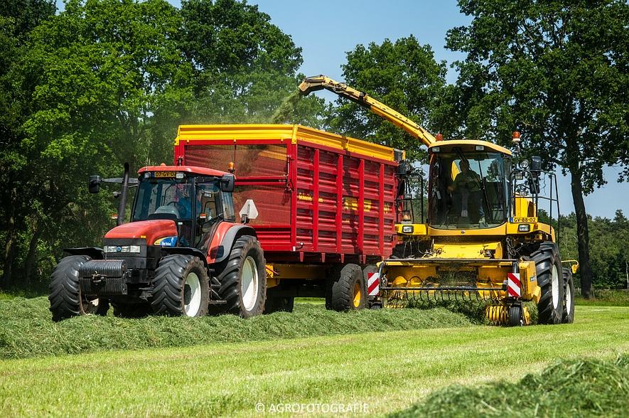 New Holland FX 50 + New Holland TM 155 (Gras, Vermeulen, 11-06-2015) (31)