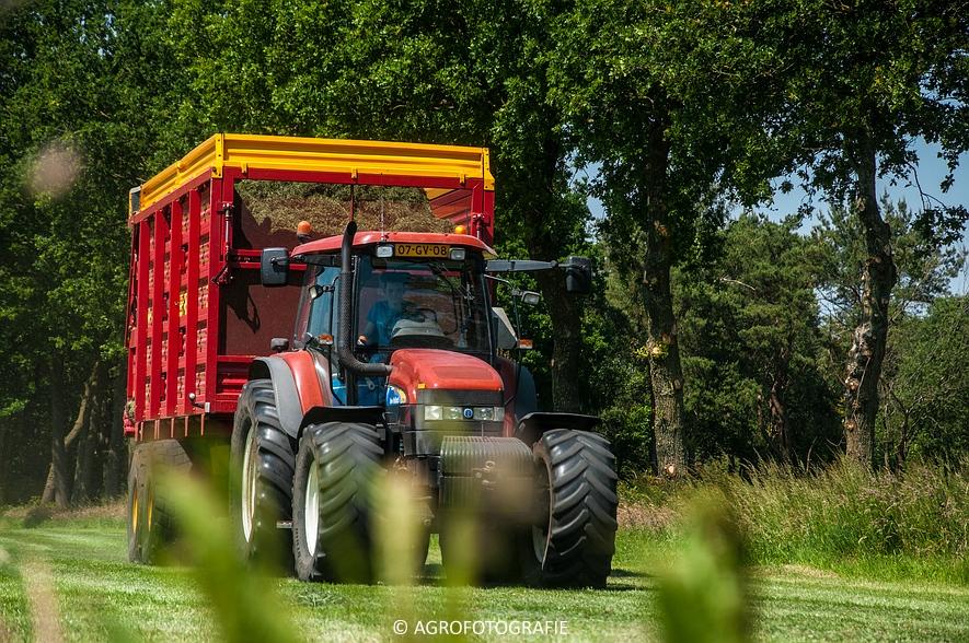 New Holland FX 50 + New Holland TM 155 (Gras, Vermeulen, 11-06-2015) (51)