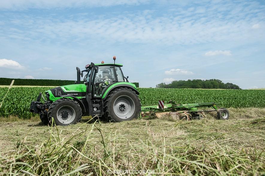 Deutz-Fahr Agrotron 6190 TTV + Krone KS 6-6.60 20 DUO (Harken, Everaert, 25-06-2015) (12 van 54)